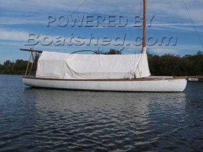 Ernest Collins Broads sailing cruiser