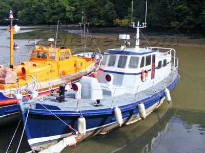 ex RNLI Watson 47 Lifeboat