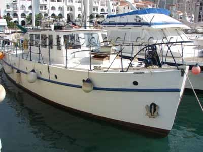 Wooden  Motor Yacht (Twin Screw) TSDY