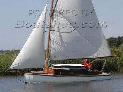 Ernest Collins Broads Sailing Boat