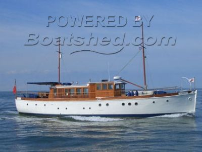 Chas Miller Classic Motor Yacht