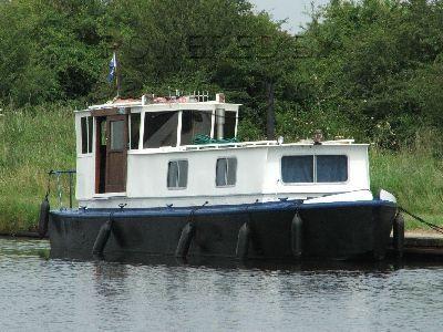 Wooden  Converted Ammunition Barge