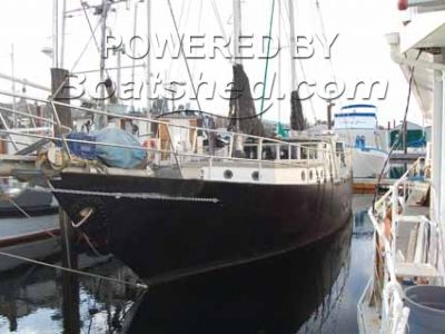 Fred Holden Sampson Ferro Cement Ketch Rigged