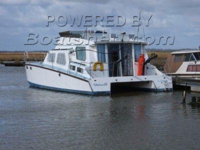 Personal Build Motor Catamaran