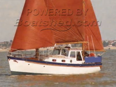 Gaff Ketch Motor Sailor