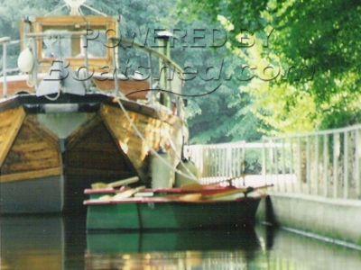 Wooden  Naval Tender