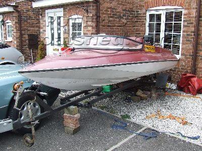 GRP Ski Boat 16'