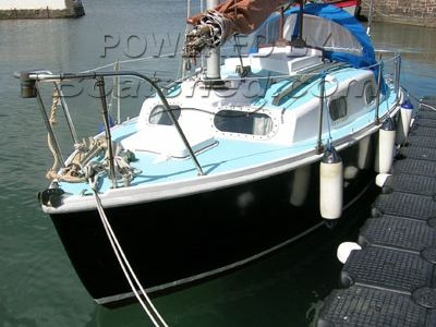 Kingfisher 20 plus Junk Rig