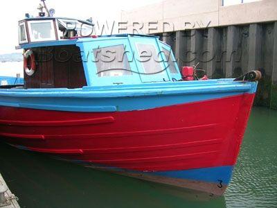 Wooden  Motor Boat 50'