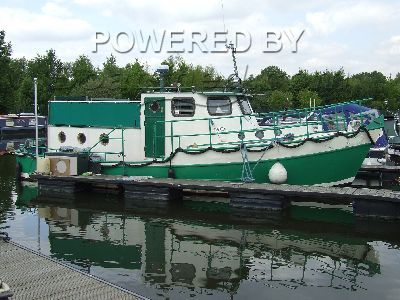 Owner built Ex Fishing Vessel