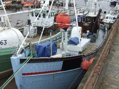 Wooden  Danish Fishing Cutter