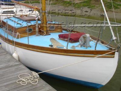 T H Turner, Leigh on Sea. 24ft Wooden Sloop