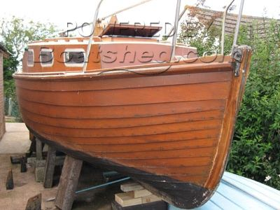 Trouts of Topsham 22' Clinker Day Boat with Cabin