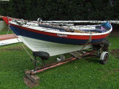 Wooden  Norwegian Fishing Boat