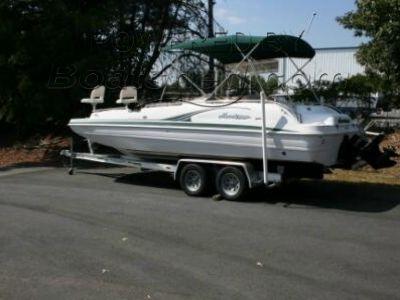 "Godfrey Marine GS 232 Fun Deck ""Fish & Ski'"