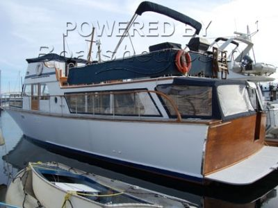 McQueen Boat Works 52' Monk Sedan Cruiser