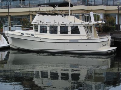 Camano 41 Performance Trawler Flybridge
