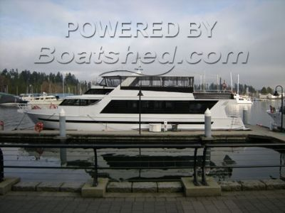 Owner built Luxury Charter Yacht/Passenger Transport with Acco