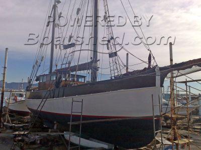 Listerfyote, Flekkefjord - Norway Custom wooden motor sailing yacht