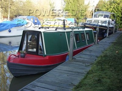 Narrowboat 33ft
