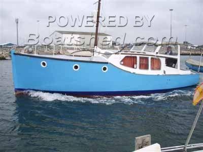 Wooden  Everyman Motor Yacht 28'