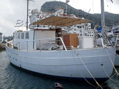 Wooden  Houseboat 52'