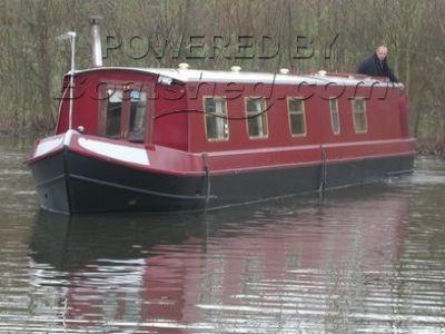 57' Cruiser Stern Narrowboat