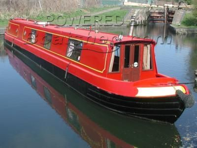 Stenson 61 ft Cruiser stern Narrowboat