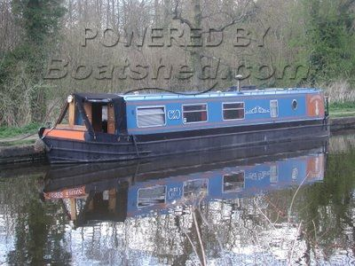 Patterson 48 ft  Trad Stern Narrowboat