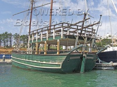 Wooden  Classic Commercial Boat