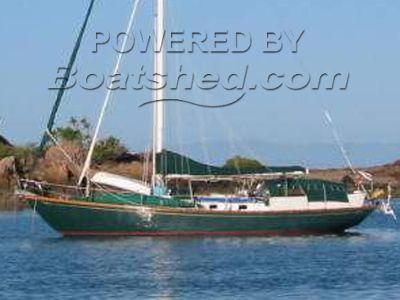 Cheoy Lee cutter 47 Blue Water cruiser