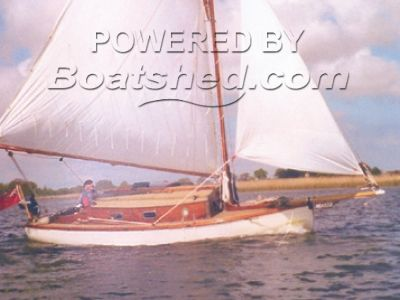 Traditional Broads Sail Boat