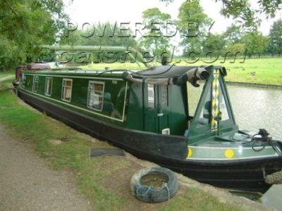 50ftStowe Hill Trad Stern Narrowboat