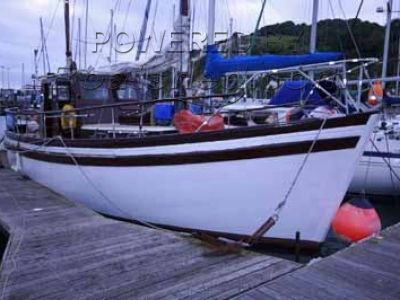 Wooden  Motor Sailer 33'