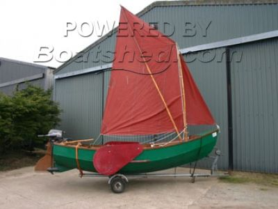 Wooden  Sailing Dinghy 15'