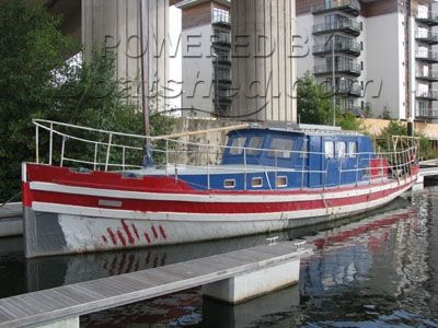 Wooden  Harbour Launch 52'