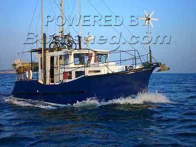 Steel Motor Sailer 33