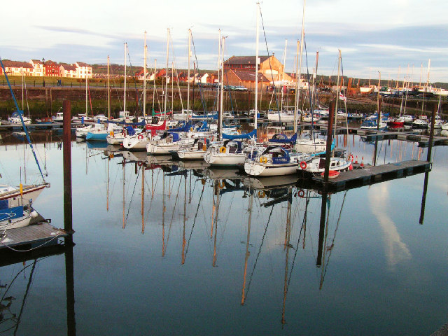 Maryport Marina Cumbria