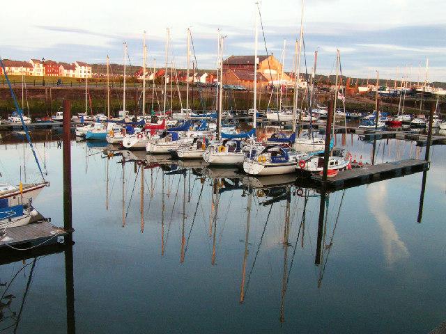 Maryport Marina Cumbria
