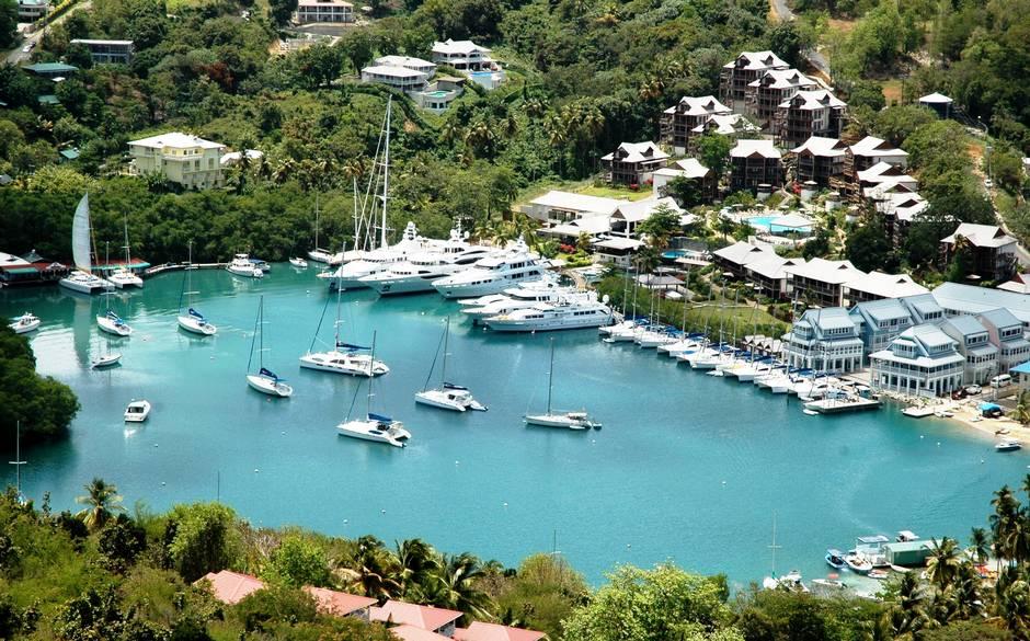 Marigot Bay Marina