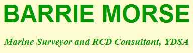 Barrie Morse-Marine Surveyor