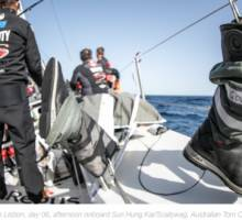 The life of a Volvo Ocean Race sailor in pictures: eat, sleep, sail, repeat