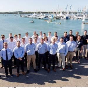 Apprentices celebrate success at British Marine Apprenticeship Graduation