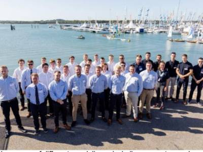 Apprentices celebrate success at British Marine Apprenticeship Graduation