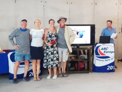 Supertaff wins friends and honours for Boatshed team on transatlantic rally