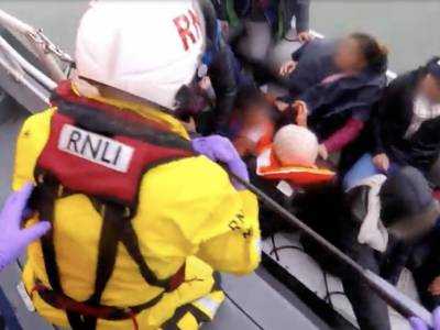 WATCH: RNLI releases distressing rescue footage and defends English Channel work