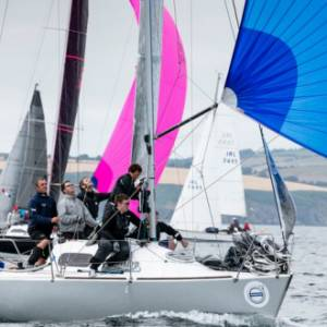 Fn'Gr8 the overall winner at Volvo Cork Week