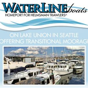 Waterline Boats Offering Transitional Moorage -