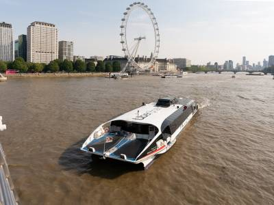 Thames Clippers wins funding for sustainability and hybrid projects