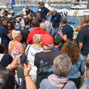 17 skippers arrive in Les Sables d'Olonne for start of the Golden Globe Race